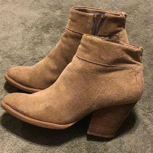 Steve Madden Shoes - Steve Madden Faander Women Suede Tan Ankle Boot